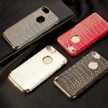 Yage Series Grijs Krokodillen Hardcase Hoesje iPhone 7
