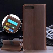 Bruin Bookcase Hoesje iPhone 7 Plus