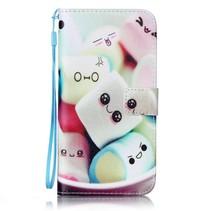 Marshmallows Bookcase Hoesje iPhone 7 Plus