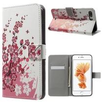 Bloesem Bookcase Hoesje iPhone 7 Plus