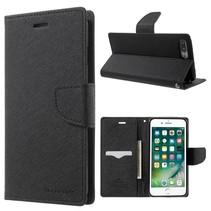 Goospery Zwart Bookcase Hoesje iPhone 7 Plus
