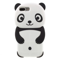 Panda Siliconen Hoesje iPhone 7 Plus