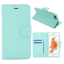 Diary Cyaan Bookcase Hoesje iPhone 7 Plus