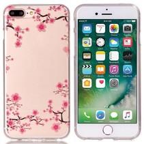 Bloemetjes TPU Hoesje iPhone 7 Plus