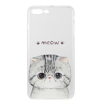 Meow TPU Hoesje iPhone 7 Plus