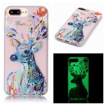 Rendier Glow in the Dark TPU Hoesje iPhone 7 Plus