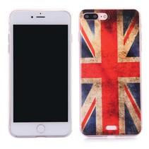 Britse Vlag TPU Hoesje iPhone 7 Plus