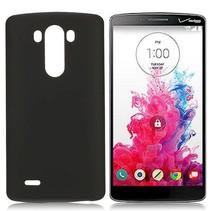 Zwart effen hardcase hoesje LG G3