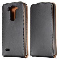 Zwart Flip Case hoesje LG G3 S