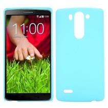 Lichtblauw hardcase hoesje LG G3 S