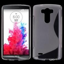 Transparant S-design TPU hoesje LG G3 S