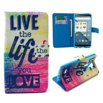 Life quote Bookcase hoesje LG G4