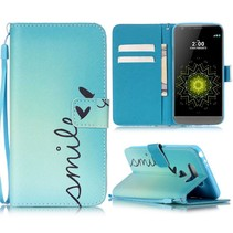 Smile Bookcase Hoesje LG G5 / G5 SE