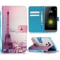 Eiffeltoren Bookcase Hoesje LG G5 / G5 SE