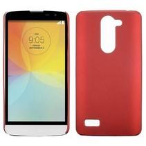Rood hardcase hoesje LG L Bello / L80 Plus
