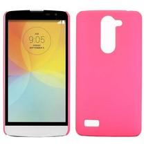 Roze hardcase hoesje LG L Bello / L80 Plus