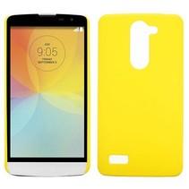 Geel hardcase hoesje LG L Bello / L80 Plus