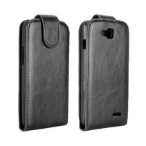 Zwart Flip Case hoesje LG L90