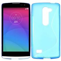 Blauw S-design TPU hoesje LG Leon
