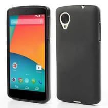 Zwart TPU hoesje LG Nexus 5
