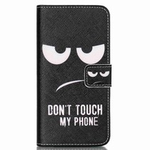 Don't Touch My Phone Bookcase Hoesje LG Nexus 5X