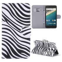 Zebra Bookcase Hoesje LG Nexus 5X