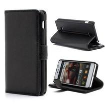 Zwart Bookcase hoesje LG Optimus F5