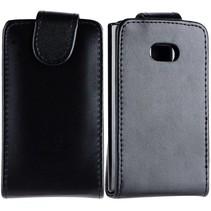 Zwart Flip Case hoesje LG Optimus L3
