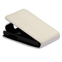 Wit Flip Case hoesje LG Optimus L3 II