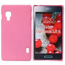 Roze hardcase hoesje LG Optimus L5 II