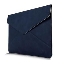 Blauw Envelop Faux Leren Hoes Macbook Pro / Air 13-inch