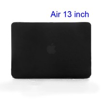 Zwarte Hardcase Cover Macbook Air 13-inch