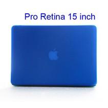 Blauwe Hardcase Cover Macbook Pro 15-inch Retina
