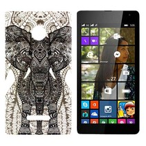 Olifant TPU hoesje Microsoft Lumia 435