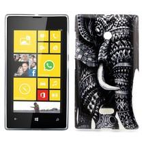 Tribal olifant TPU hoesje Microsoft Lumia 435