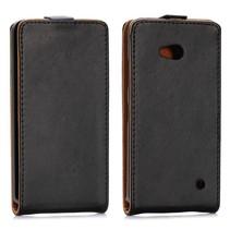 Zwart Flip Case hoesje Microsoft Lumia 640