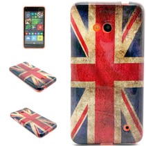 Britse vlag TPU hoesje Microsoft Lumia 640