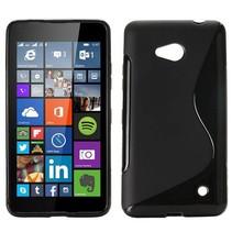 Zwart S-design TPU hoesje Microsoft Lumia 640