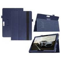 Blauw lychee flipstand hoes Microsoft Surface 3