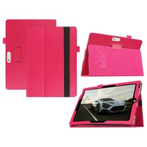 Roze lychee flipstand hoes Microsoft Surface 3