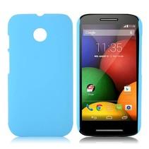 Blauw hardcase hoesje Motorola Moto E