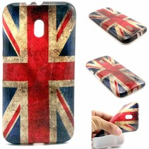 Britse vlag TPU hoesje Motorola Moto G 3rd Gen