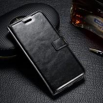 Zwart Bookcase Hoesje Motorola Moto G4 Play
