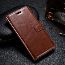 Bruin Bookcase Hoesje Motorola Moto G4 Play
