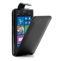 Zwarte Flip Case hoes Nokia Lumia 1020