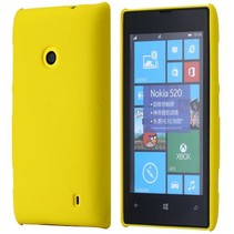 Geel hardcase hoesje Nokia Lumia 520 / 525