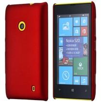 Rood hardcase hoesje Nokia Lumia 520 / 525