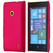 Donkerroze hardcase hoesje Nokia Lumia 520 / 525