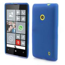 Blauw TPU hoesje Nokia Lumia 520 / 525