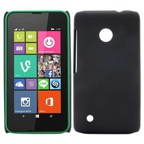 Zwart hardcase hoesje Nokia Lumia 530